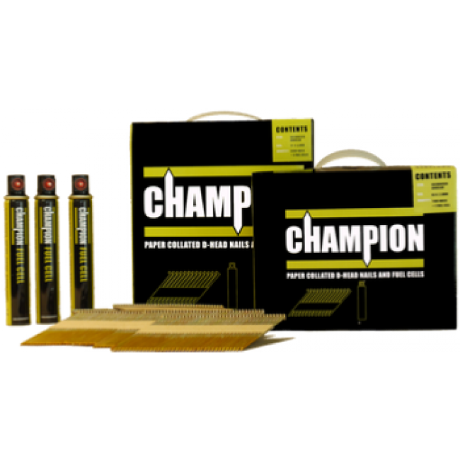Champion Collated Gas Nails 51mm