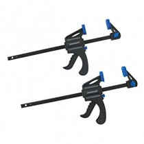 "QUICK CLAMPS 150mm RATCHETING BAR CLAMPS 6"" WITH PUSH BUTTON RELEASE"
