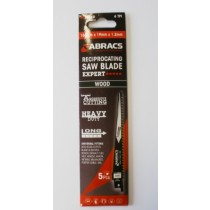 Abracs Reciprocating Saw Blades 150mm For Wood RBS644D Expert