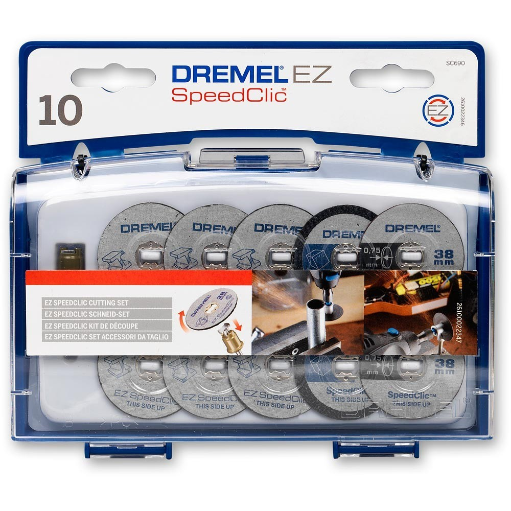 Dremel SC690 EZ SpeedClic Cutting Accessory Set 2615S690JA