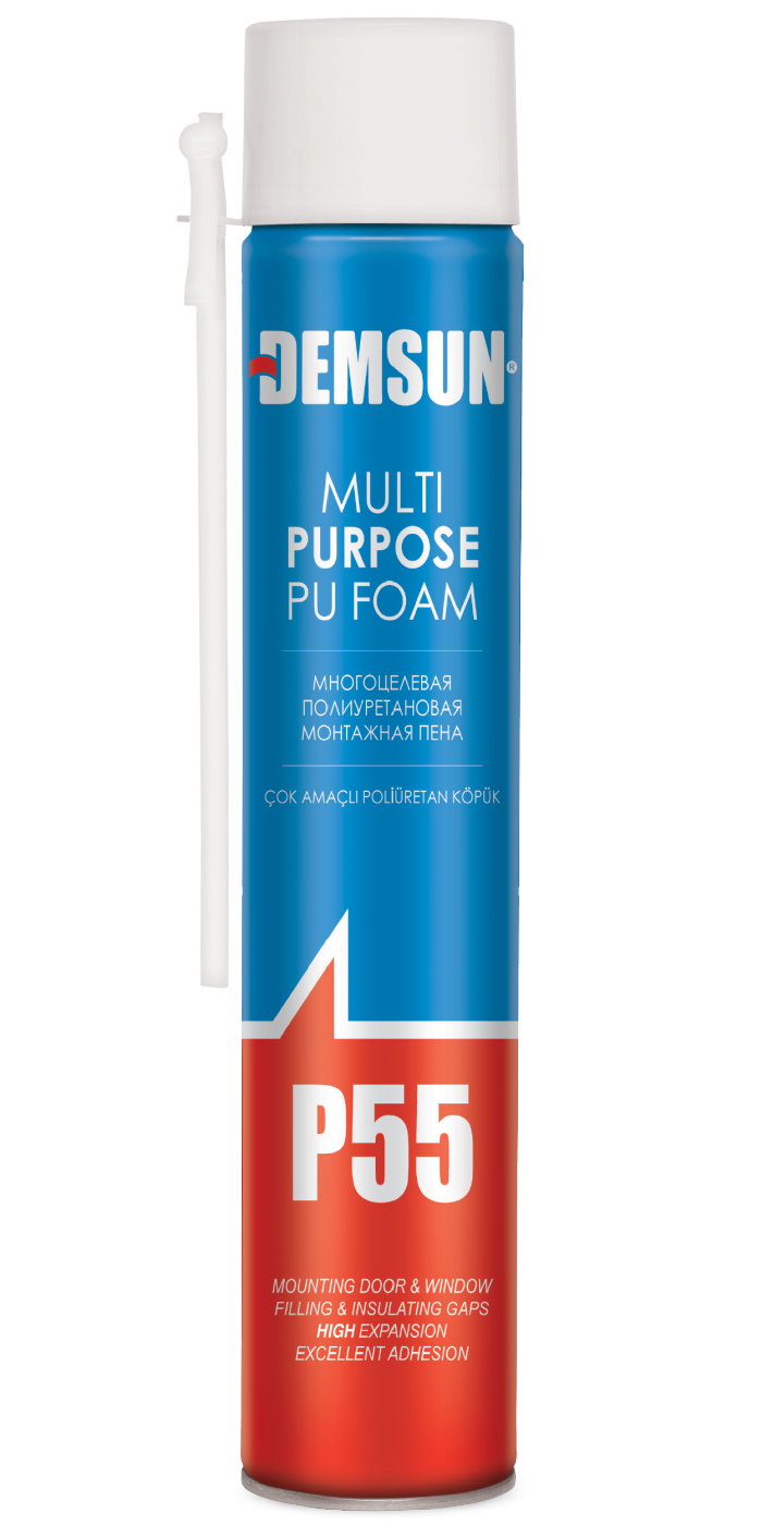 Demsun P55 Multi Purpose Pu Foam 750ml Aerosol