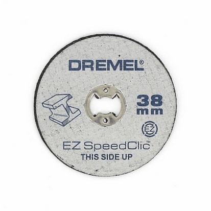 DREMEL SC 456 METAL CUTTING DISCS DREMEL SPEEDCLIC 2615S456JC PACK 5