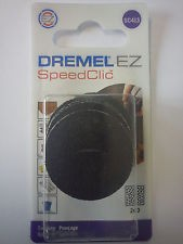 DREMEL SC413 EZ SpeedClic pack of 6 240 Grit Sanding Discs 2615S413JA