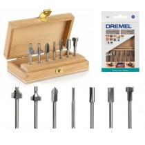 Dremel 660 DREMEL MULTIPURPOSE ROUTER BIT SET 26150660JA