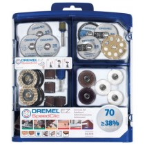 DREMEL SC725 SpeedClic EZ Multipurpose Modular Accessory 70 Piece Set 2615E725JA