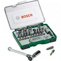 BOSCH Screwdriving 27 piece Set with Ratchet 2607017160