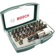 BOSCH 32 PIECE  BIT SET IN CASE 2607017063