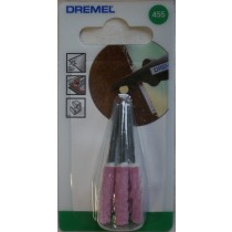 DREMEL 455 CHAINSAW SHARPENING GRINDING STONE 5.6 MM Pack of 3 Dremel 26150455JA