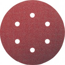 HOOK & LOOP SANDING DISCS 150mm 80 GRIT