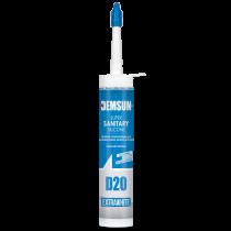 Demsun D20 Sanitary Silicone Sealant Extra White