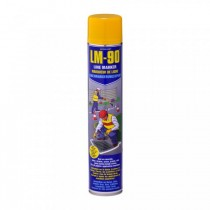 LM-90 Yellow Line Marking Paint 750ml Action Can