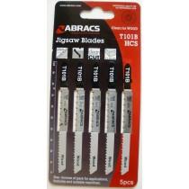 JIGSAW BLADES (PK5) T101B ABRACS