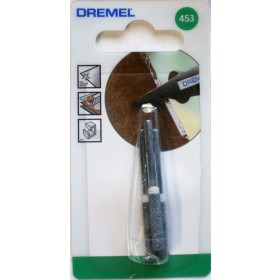 DREMEL 453 CHAINSAW SHARPENING GRINDING STONE 4 MM Pack of 3 Dremel 26150453JA